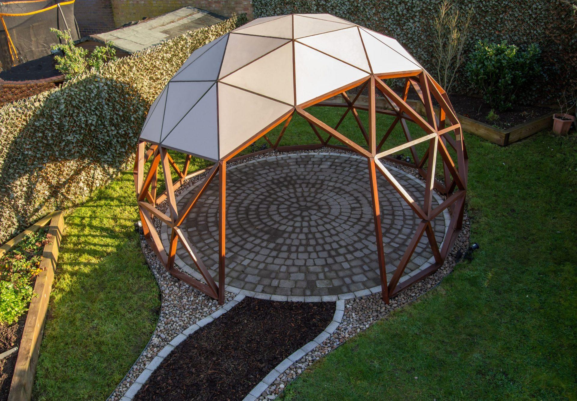 ArmaGado geodesic dome